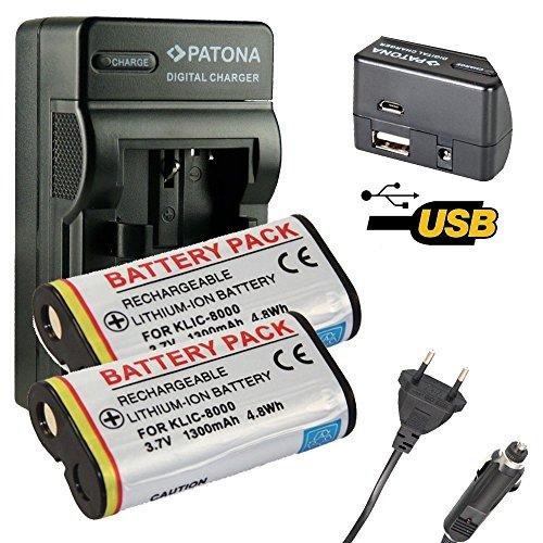 4en1-chargeur-patona-2x-batterie-pour-klic-8000-kodak-easyshare-z612-z712is-z812is