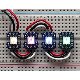 Breadboard-friendly RGB Smart NeoPixel - Pack of 4
