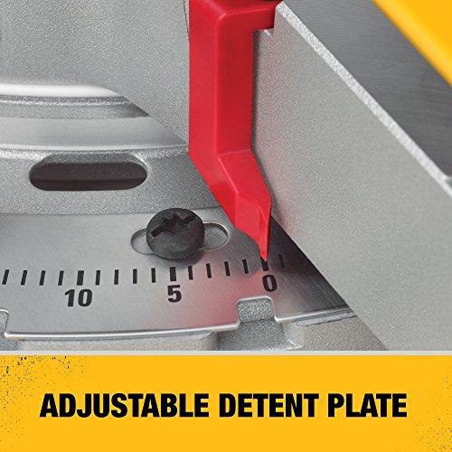 DeWalt Paneelsäge (1675 W, Schnittkapazität bis zu 110 x 303 mm, millimetergenaue Schnitte durch LED-unterstützte Schnittlinienanzeige) DWS780 - 7