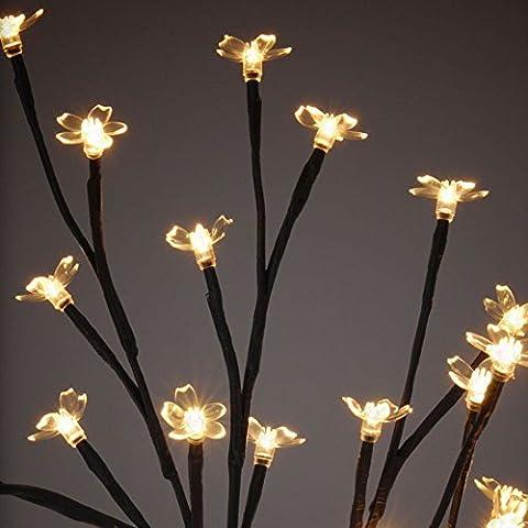 LED-Baum H40cm 24LEDwarmwss. (Warm Weiß Led Weihnachten Tree)