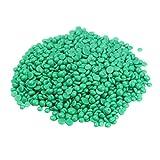 Healifty Depilación Cuentas de cera dura Depilación indolora sin tiras Depilatoria Perla Cuentas de cera dura Frijoles 400 g (Verde claro)
