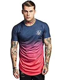 aebf82d3 SikSilk SIK Silk Men Overwear/T-Shirt Curved Hem Faded