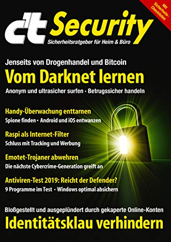 c't Security (2019): Vom Darknet lernen