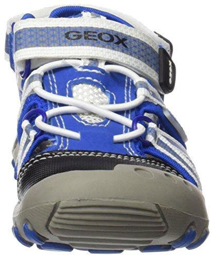 Geox Kyle C, Sandales Bout Fermé Garçon Bleu (Royal/Whitec0432)