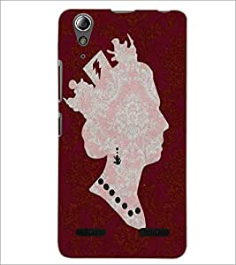 PrintDhaba Quote D-4896 Back Case Cover for LENOVO A6000 (Multi-Coloured)