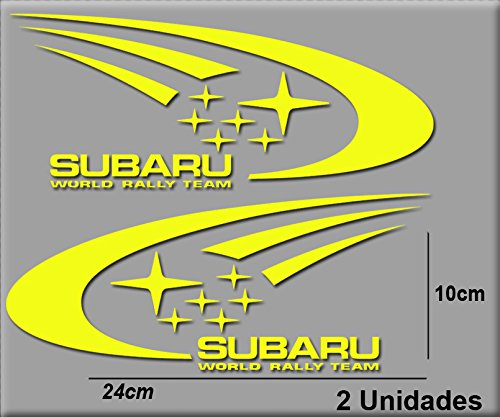 pegatinas-subaru-r106-vinilo-adesivi-decal-aufkleber-stickers-car-voiture-sport-racing-amarillo-yell