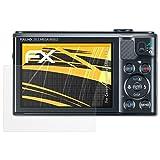 atFoliX Schutzfolie für Canon PowerShot SX610 HS Displayschutzfolie - 3 x FX-Antireflex blendfreie Folie