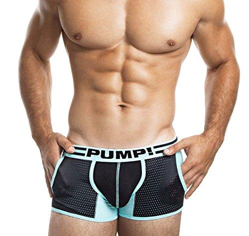 Pump! Uomo Boxer, Boxer Trunk Hypotherm Jogger Verde