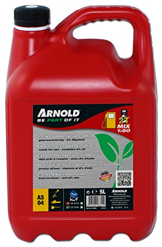 Preisvergleich Produktbild Arnold 2T 2-Takt Sonderkraftstoff-Mix 1:50, 5 L, grün, 6012-2T-0005