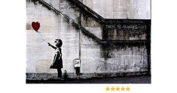Famous Cleaning Maid By Banksy Poster Wall Art Prints Quality Gloss Paper
