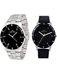 Latest Fashionable Casual / Formal Watches For Combo Of 2 By Meclow