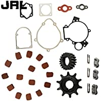 jrl 3 x cadena Master Link & 15 x cuadrado almohadillas de embrague para 49 cc