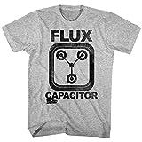 American Classics Zurück in die zukunft flux capacitor-T-shirt für Herren XXXX-Groß Grau