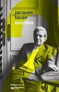 Escritos 2 par Jacques Lacan