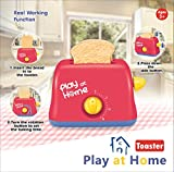 Koolbitz Pretend Play Electronic Toy Pop-Up Toaster with 2 Toast