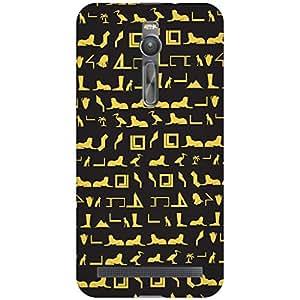 URBAN KOLOURS Original Designer Printed Hard Case Back Cover for Asus Zenfone 2 ZE551ML (Egyptian Pattern)