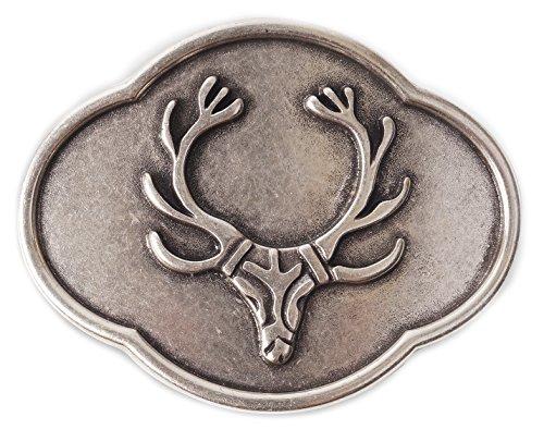 Gürtel Schnallen für 4cm Breite Gürtel Geschenk Gürtelschliesse Jagd Buckles Buckl Gürtel Schnalle Wechselgürtelschnallen für Jäger