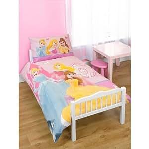 kinder m dchen disney prinzessin kinderbett bettdecken und kopfkissen bezug set kinderbett. Black Bedroom Furniture Sets. Home Design Ideas