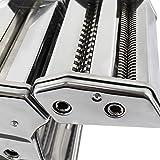 Nudelmaschine aus Stahl für Lasagne, Spaghetti und Tagliatelle - 5