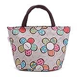 ZXKEE Frauen Taschen Sonnenblume Grey Kleine Lunchpaket Wickeltasche