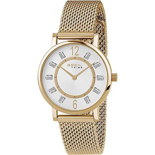 BREIL Reloj Tribe Skinny Mujer Sólo el Tiempo IP Oro - EW0403
