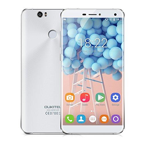 Oukitel U11 Plus - 4G Smartphone ohne Vertrag (5.7 Zoll, Android 7, 1920 x 1080 Pixel, MTK6750T Octa-Core 4 1.5GHz, 4GB RAM, 64GB ROM, dual 13MP Kameras, dual Blitzlicht, Fingerabdruck, dual SIM)