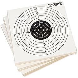Nitehawk - Lot de 1000 cibles pour entraînement de tir - pour fusil à air comprimé/pistolet d'airsoft - 14 cm