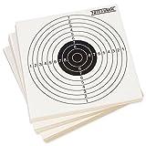 Nitehawk - Lot de 100 cibles pour entraînement de tir - pour fusil à air comprimé/pistolet d'airsoft - 14 cm