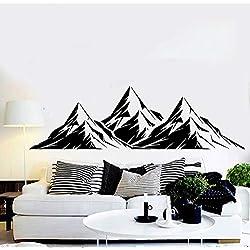 yaonuli Vinilo Mural Gran Pegatina a Dos Aguas para Sala de Estar en casa Adhesivo Decorativo de Pared 50x75cm