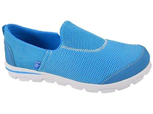 Foster Footwear , Tennis femme Turquoise