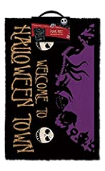 Idea Regalo - The Nightmare Before Christmas Zerbino Nightmare Before Christmas Halloween Town, Coro, Multi-Colour, 40_x_60_cm