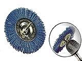 Scheibenbürste Nylon fein Durchmesser 100 mm