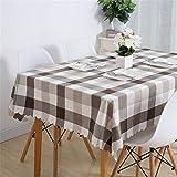 Steaean Tischdecke Tischdecke Stoff Quadrat Einfache Haushalt 歺 Tischdecke Rechteckigen Couchtisch Tuch Kann Größe Angepasst Werden, 130 * 280 cm