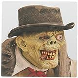 3drose LLC 20,3x 20,3x 0,6cm Maus Pad, gruseligen alten Mann Gesicht und Monster Kostüm (MP _ 156798_ 1)