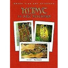 Klimt: 16 Art Stickers (Dover Art Stickers) by Gustav Klimt (1999-04-29)