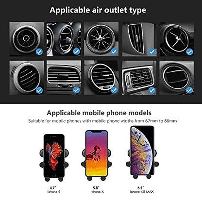 Drivaid-Handyhalterung-Auto-Schwere-Entlftung-Handyhalter-frs-Auto-with-Kratzschutz-und-360Drehbarem-Gelenk-fr-Autoentlftung-Universale-kfz-halterung-fr-iPhone-Sumsung-Huawei-47-bis-65-Zoll