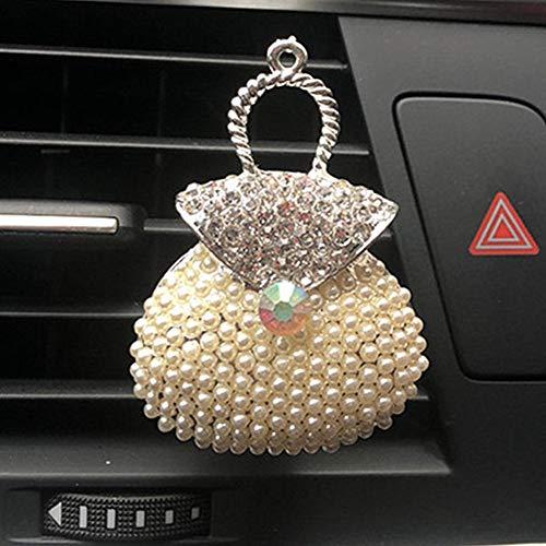 KANKOO Deodorante Auto Clip rinfrescante Clip per profumi Car Bag Clip di Profumo per Auto Profumo di Clip per Auto Fragranza Profumi Locket Perfume Nuova Durevole P