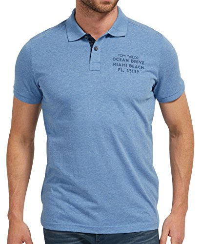 Tom Tailor Polo Shirt leasure blue leasure blue