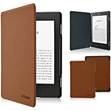 Kindle Case - ACdream Amazon Kindle 5 & Kindle 4 Protective Case - Ultra Slim PU Leather Cover Case for Amazon Kindle 4 / Kindle 5 With Magnet Closure (Only fit kindle 4,not fit kindle 7th Generation Or kindle paperwhite/kindle touch), Brown