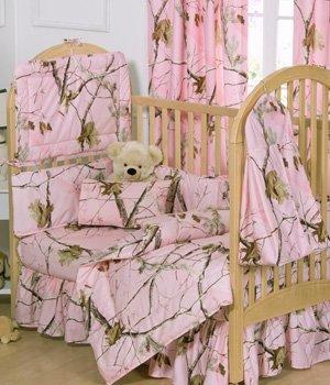 realtree-ap-pink-camo-5-piece-crib-set-includes-crib-fitted-sheet-crib-bumper-pad-crib-headboard-pad