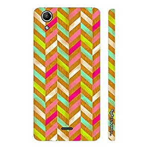 Micromax Canvas Selfie 2 Q340 Woody Zag designer mobile hard shell case by Enthopia