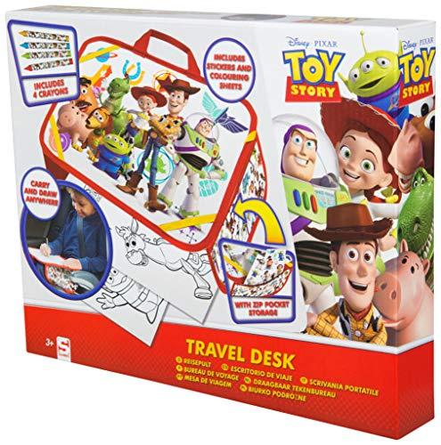 Disney Toy Story 4 Woody Buzz Malset für Kinder mit Buntstifte und Aufkleber Pixar (Toy Geburtstag Woody Story)