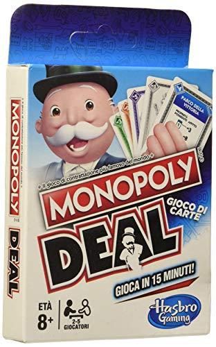 Hasbro Monopoly Deal, Mehrfarbig