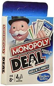 Hasbro Monopoly-E3113103 Deal, Juego de Cartas, Multicolor, E3113103