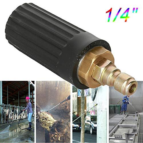 BonTime Hochdruckreiniger mit rotierender Turbodüse 2500 PSI 1/4 Zoll Schnellkupplung Kompatibel mit Allen Benzin- und Diesel-Hochdruckreinigern