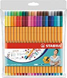 Fineliner - STABILO point 88 - Astuccio da 40 - Colori assortiti