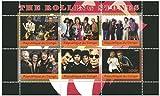The Rolling Stones miniatura foglio di francobolli per i collezionisti - 6 menta e montati timbri / Edizione 2009 / Congo / 300F