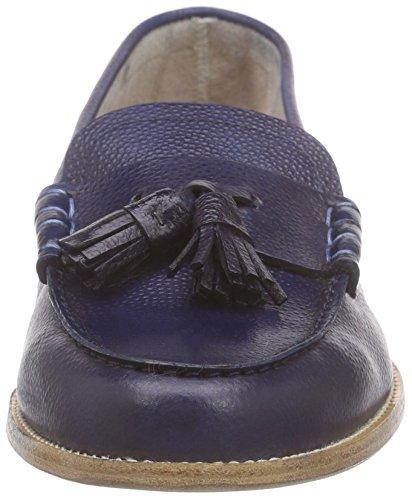 Lottusse S8635-12029-03, Mocassins femme Bleu - Blau (RAY LUX CIAN)