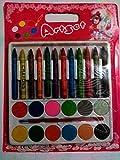 #2: Aptitude® art set 12 crayons,12 water colours,1 small brush