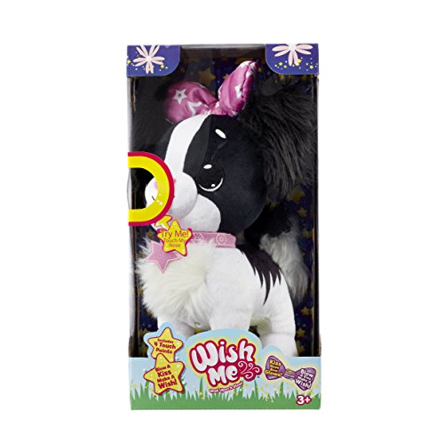 Wish Me JP89101 Puppy Black Cavalier, Multi